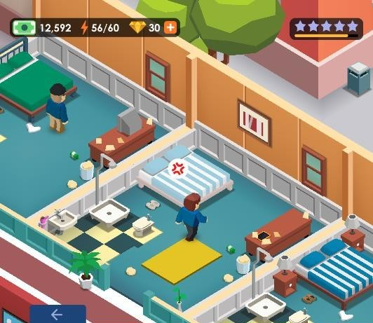 How not to make guests angry in Hotel Empire Tycoon