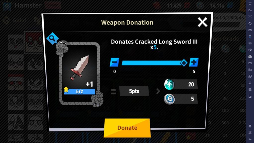 Donate unwanted weapons