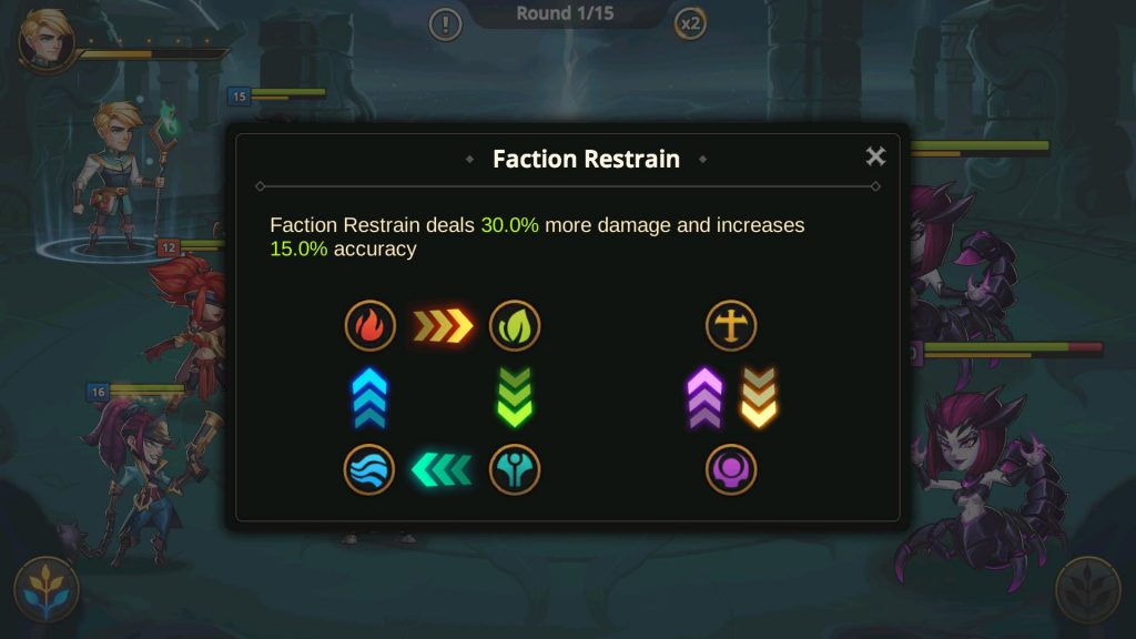 Faction Restrain