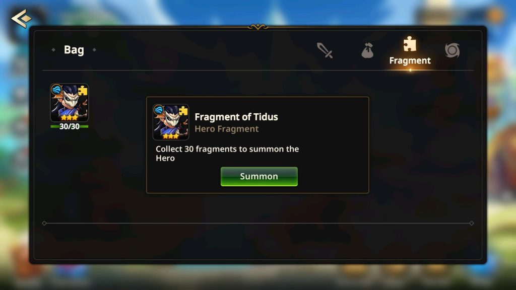 Get Heroes from Fragments