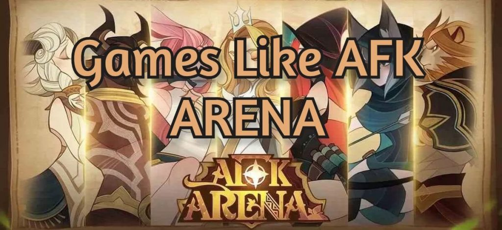 Best idle games like AFK Arena