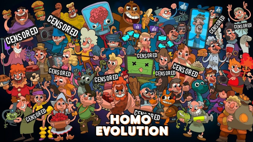Homo Evolution -  A very different idle evolution game.