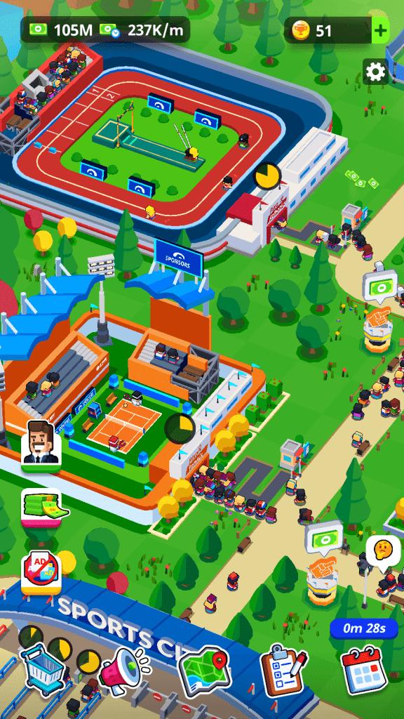 Sports City Tycoon