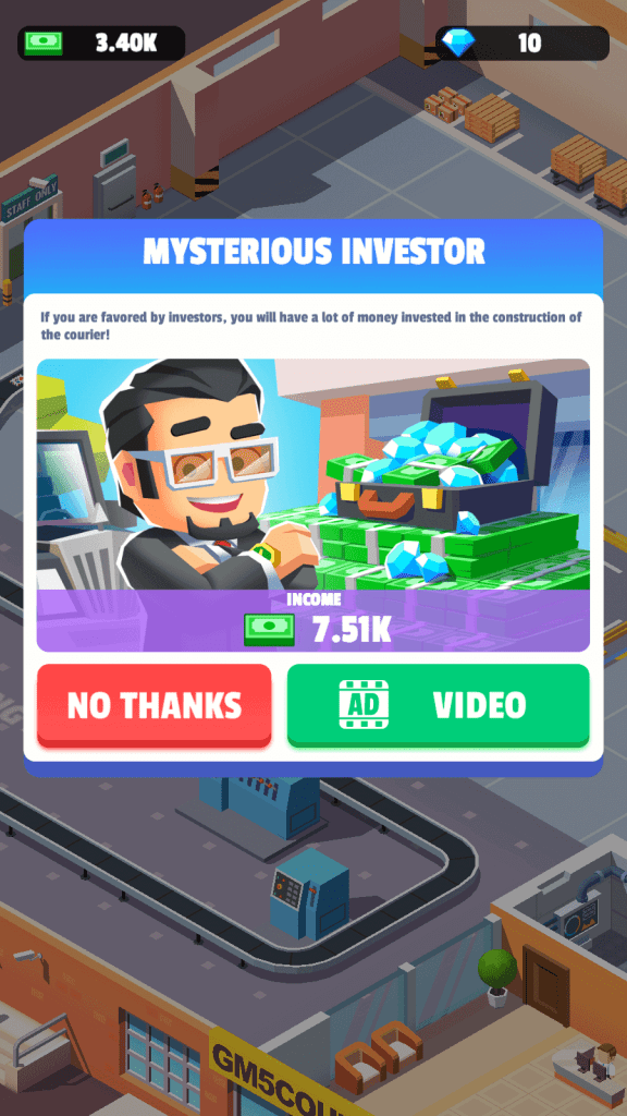 Mysterious Investor