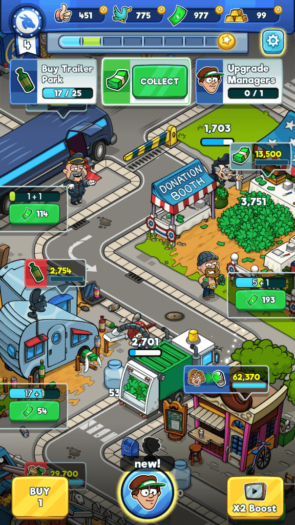 Automating a city in Pocket Politics 2