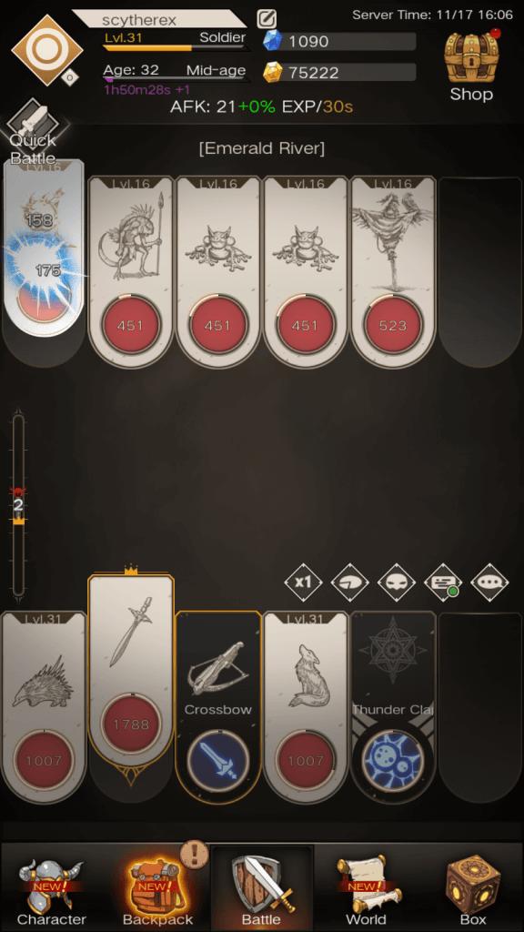 Immortal Reborn Battle Mode