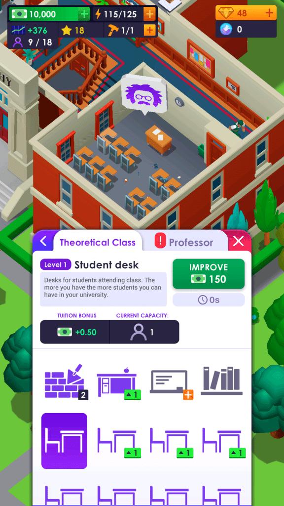 Build student desks